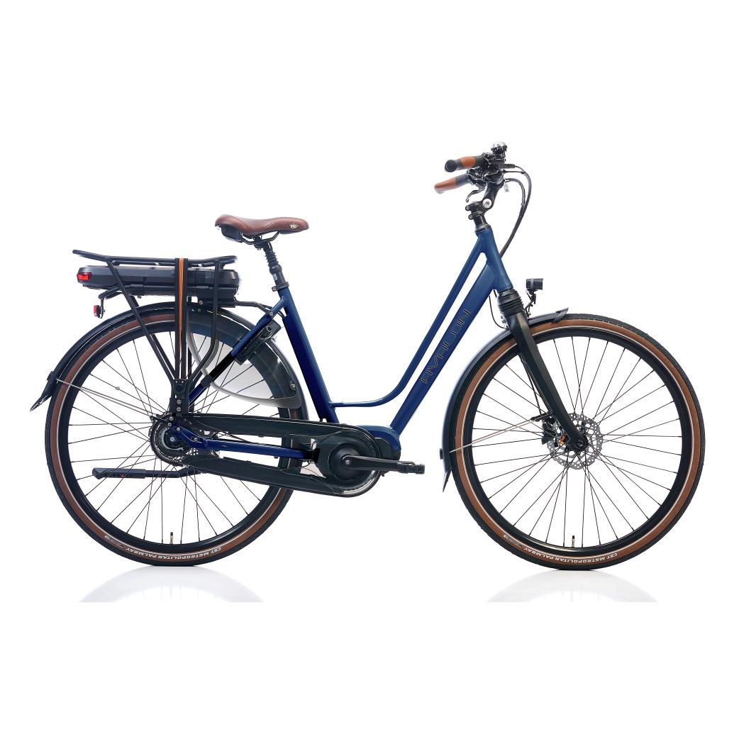 DeLuxe E-bike N8 D.blauw  D52
