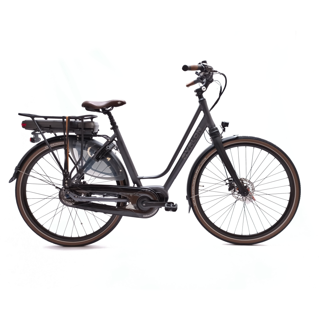 DeLuxe E-bike N8 antraciet D48