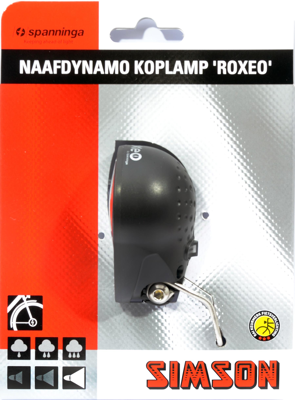 Verlichting voor (naaf/dynamo)